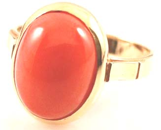 Red coral Moonga is also considered A very lucky gemstone
